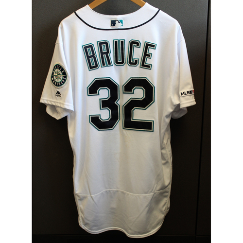 Photo of Jay Bruce Game-Used Armed Forces Day Jersey
