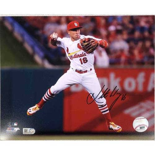 Photo of Cardinals Authentics: St. Louis Cardinals Kolten Wong Autographed Photo
