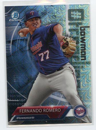 Photo of 2018 Bowman Chrome Mega Box Hashtag Trending Refractors #FR Fernando Romero