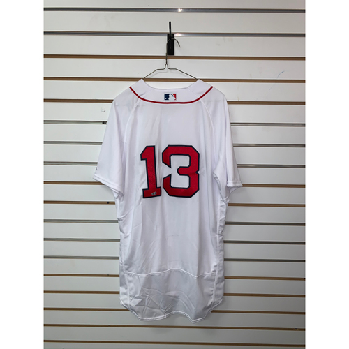 Hanley Ramirez Autographed Authentic Home Jersey
