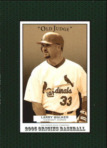Photo of 2005 Origins Old Judge #43 Larry Walker