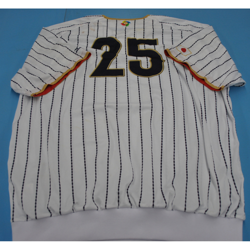 Photo of 2017 World Baseball Classic Batting Practice Jersey - Yoshitomo Tsutsugoh (Size XXL)