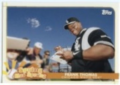 Photo of 2020 Topps Opening Day Spring Has Sprung #SHS11 Frank Thomas