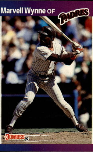 Photo of 1989 Donruss #347 Marvell Wynne