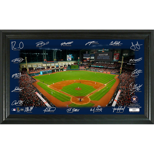Photo of Houston Astros 2020 Signature Field Limited Edition Frame
