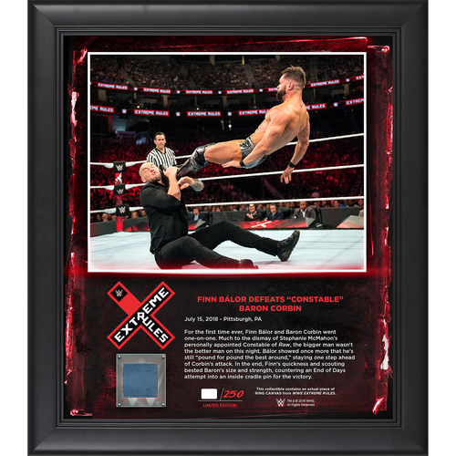 Photo of Extreme Rules 2018 Finn Bàlor frame (#1 of 250)