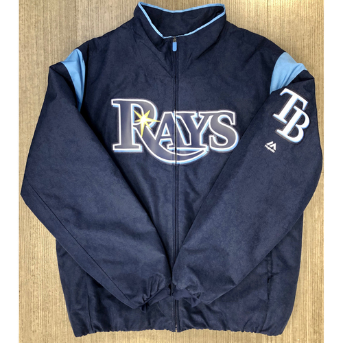 Photo of Rays Baseball Foundation: Team Issued Navy Winter Jacket - #34