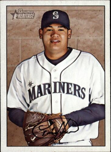 Photo of 2007 Bowman Heritage #199a Felix Hernandez