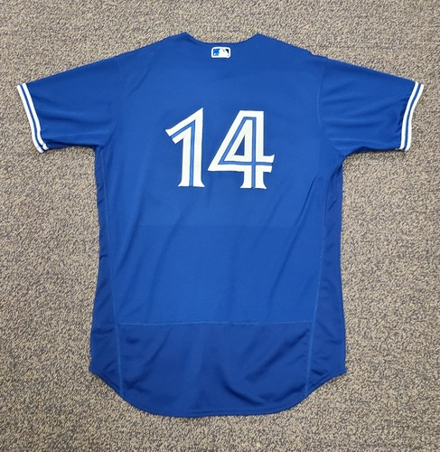 Photo of Authenticated Team Issued 2020 Spring Training Jersey: #14 Tanner Roark. Size 48