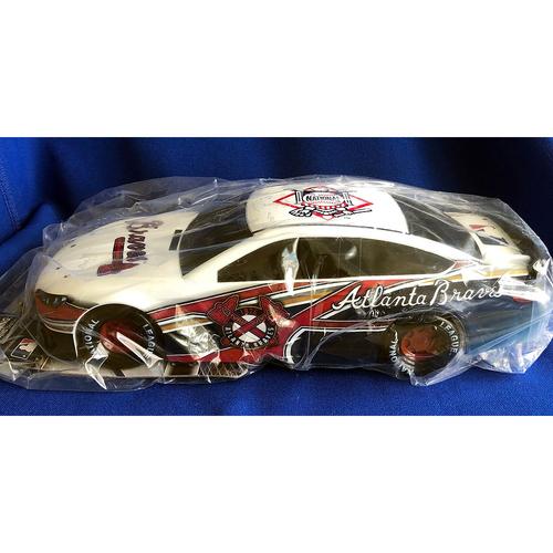 Photo of UMPS CARE AUCTION: Lionel Racing 1:18 Atlanta Braves Stock Car