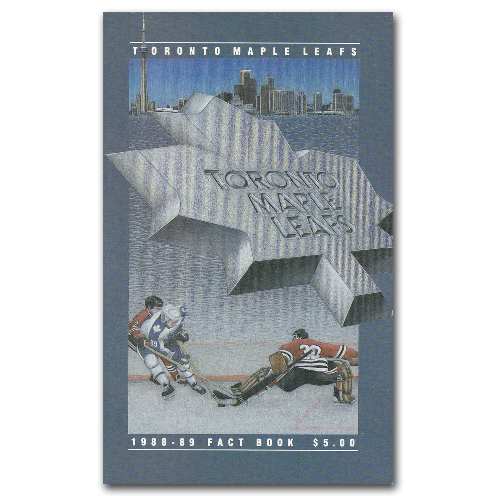 1988-89 Toronto Maple Leafs Fact Book