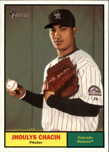 Photo of 2010 Topps Heritage #292 Jhoulys Chacin
