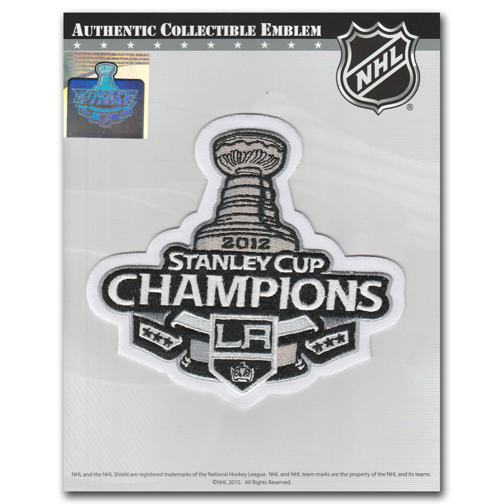 Los Angeles Kings 2012 Stanley Cup Champions Patch