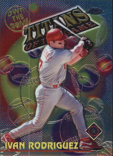 Photo of 2000 Topps Chrome Own the Game #OTG23 Ivan Rodriguez