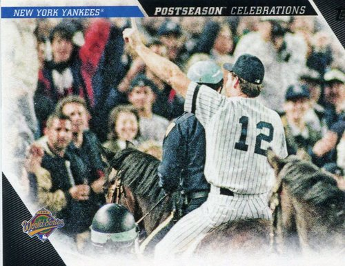 Photo of 2017 Topps Update Postseason Celebration #PC16 New York Yankees