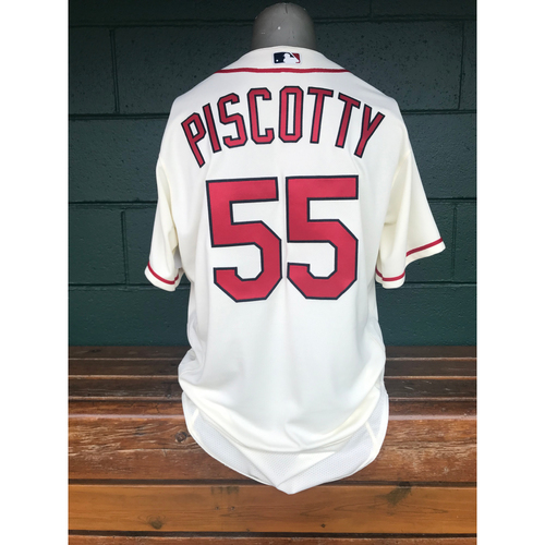 Photo of Cardinals Authentics: Stephen Piscotty Team-Issued Saturday Alternate Jersey