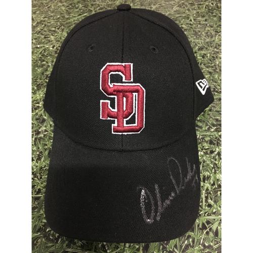 Photo of Oliver Drake Autographed Stoneman Douglas Eagles Cap - Not MLB Authenticated