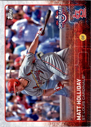 Photo of 2015 Topps Opening Day #130 Matt Holliday