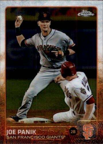 Photo of 2015 Topps Chrome #27A Joe Panik