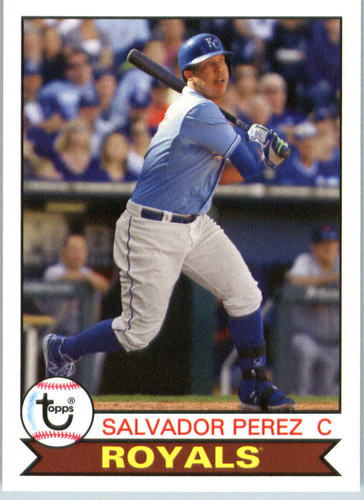 Photo of 2016 Topps Archives #183 Salvador Perez