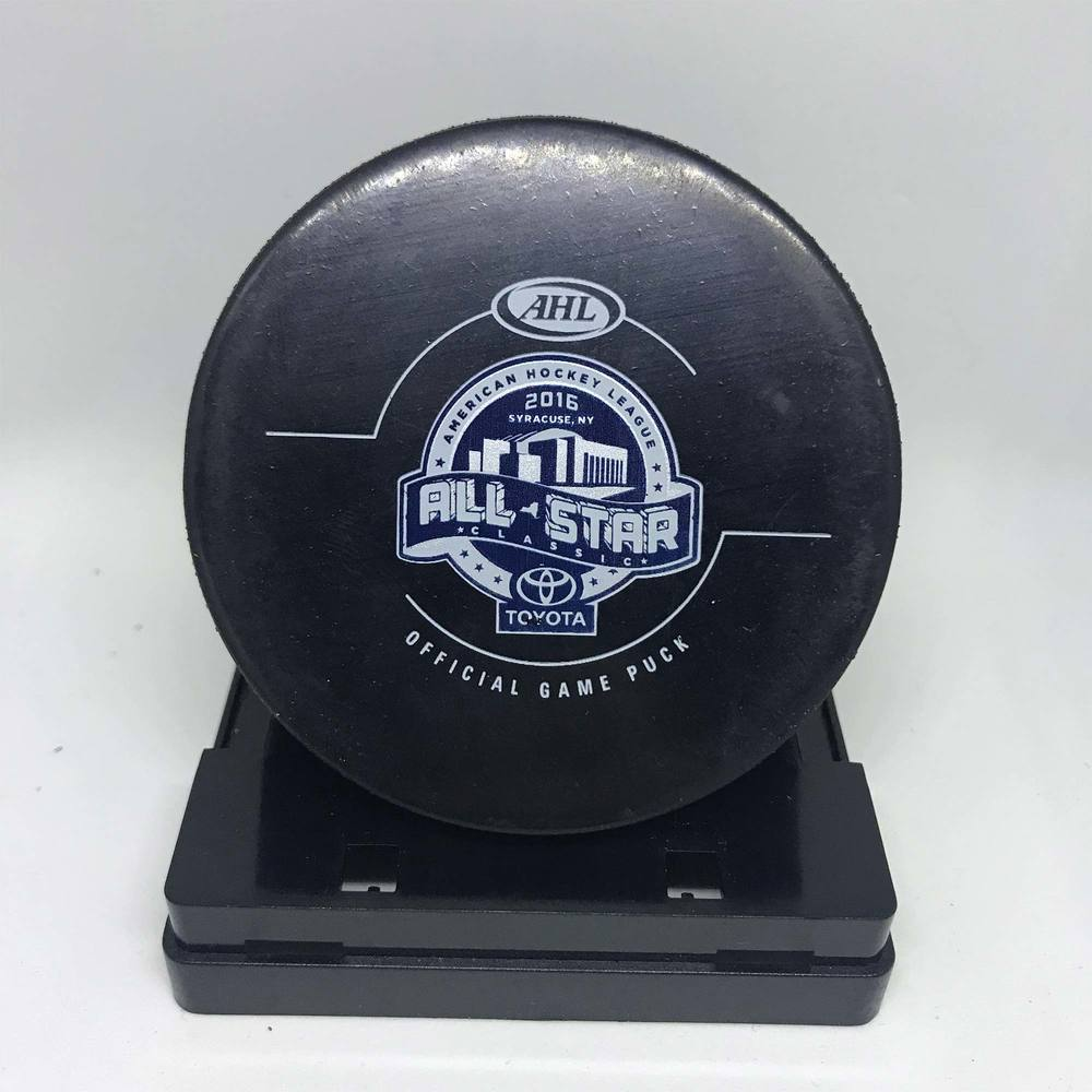 2016 Toyota All Star Classic -Used Puck - Game 3 Period 1
