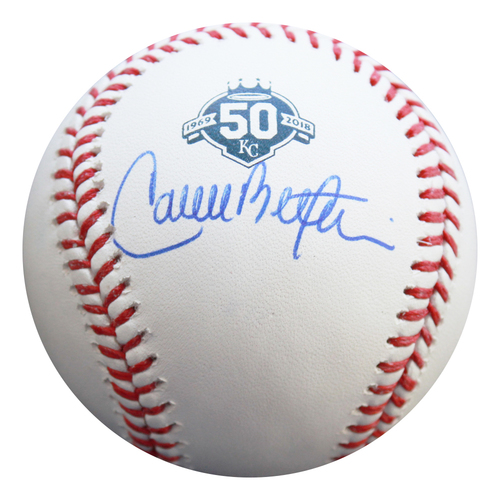 Photo of Autographed 50th Season Baseball: Carlos Beltran
