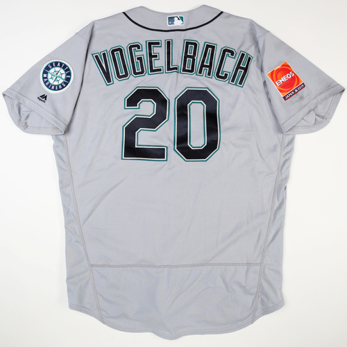 Photo of 2019 Japan Opening Day Series - Game Used Jersey - Daniel Vogelbach, Seattle Mariners at Oakland Athletics -3/18/2019 , 3/20/2019