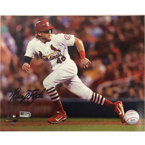 Photo of Cardinals Authentics: St. Louis Cardinals Harrison Bader Autographed Photo
