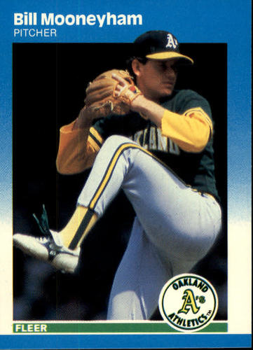 Photo of 1987 Fleer #399 Bill Mooneyham