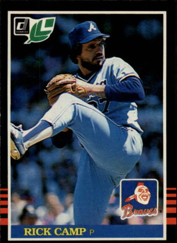 Photo of 1985 Leaf/Donruss #130 Rick Camp