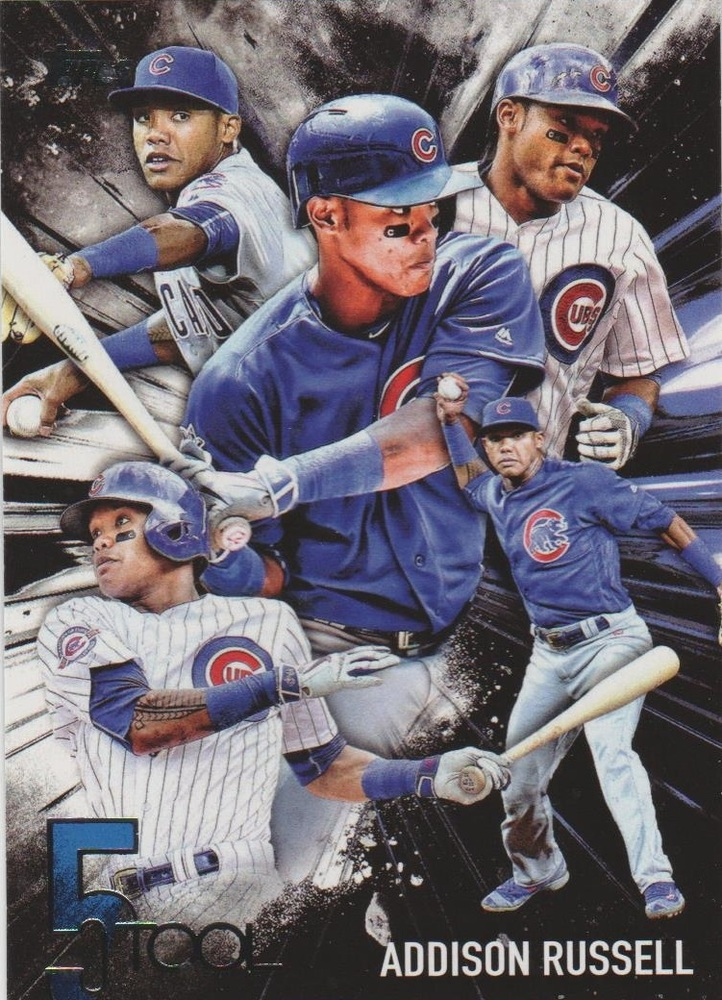 2017 Topps Five Tool #5T24 Addison Russell