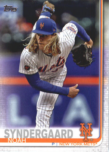 Photo of 2019 Topps #359 Noah Syndergaard