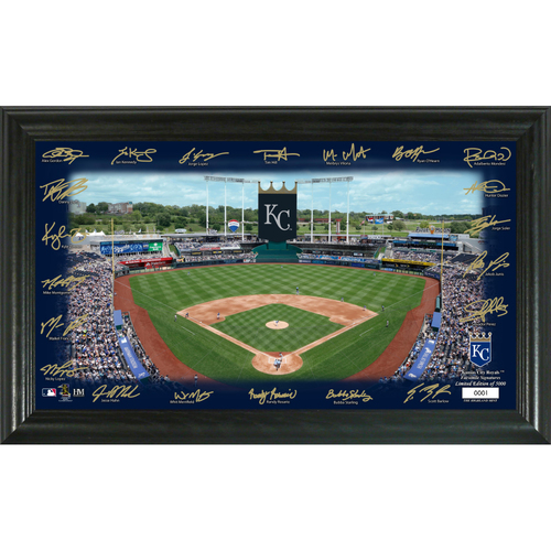 Photo of Kansas City Royals 2020 Signature Field Limited Edition Frame
