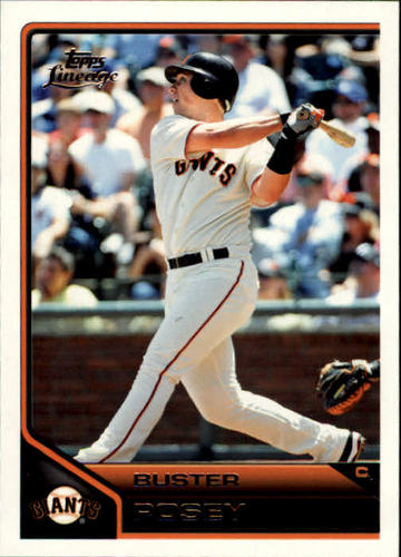 Photo of 2011 Topps Lineage #4 Buster Posey