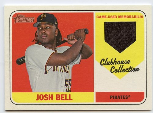 Photo of 2018 Topps Heritage Clubhouse Collection Relics #CCRJB Josh Bell