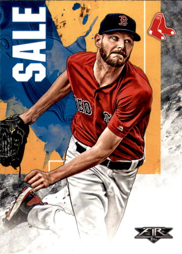 Photo of 2019 Topps Fire #192 Chris Sale