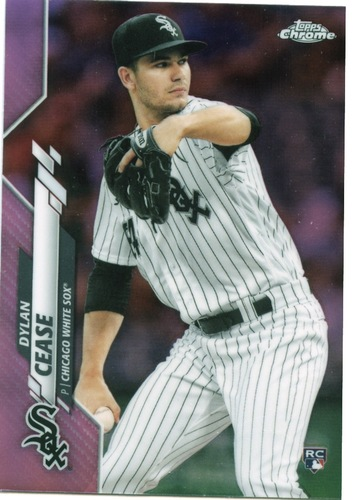 Photo of 2020 Topps Chrome Pink Refractors #43 Dylan Cease