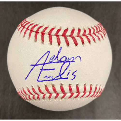 Photo of Adam Engel Autographed Baseball