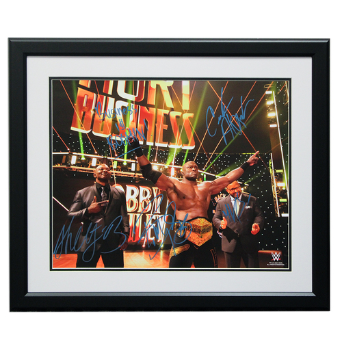 "Photo of The Hurt Business SIGNED 16"" x 20"" Framed Photo"