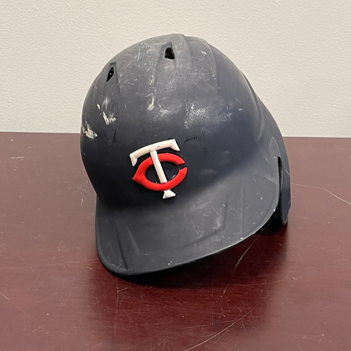 Photo of Minnesota Twins: Game-Used Right Handed Helmet - Byron Buxton - Authenticated for 7 games