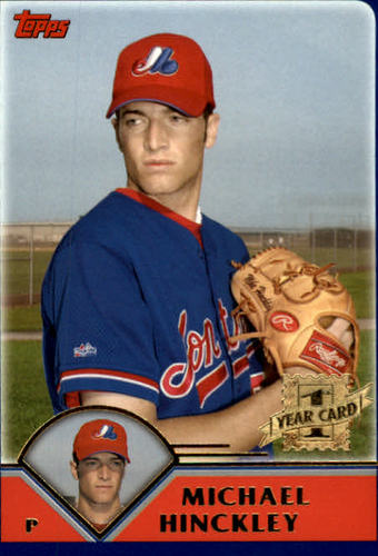 Photo of 2003 Topps Traded #T272 Michael Hinckley FY RC