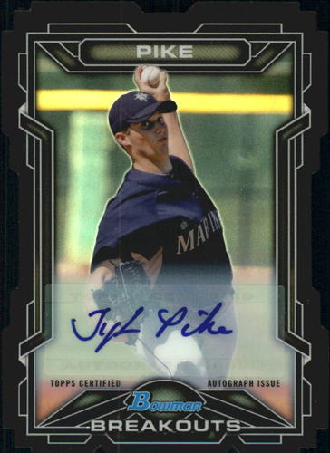 Photo of 2013 Bowman Draft Scout Breakouts Autographs #TP Tyler Pike