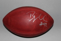 COLTS - BJORN WERNER SIGNED AUTHENTIC FOOTBALL