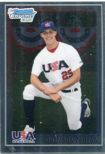Photo of 2010 Bowman Chrome 18U USA Baseball #18BC17 Jameson Taillon