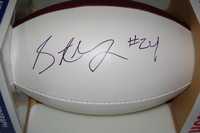 BILLS - STEPHON GILMORE SIGNED PANEL BALL