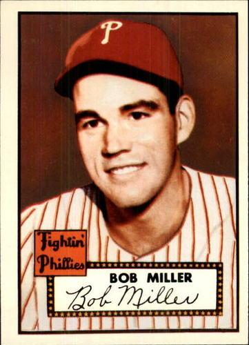 Photo of 1983 Topps 1952 Reprint #187 Bob Miller