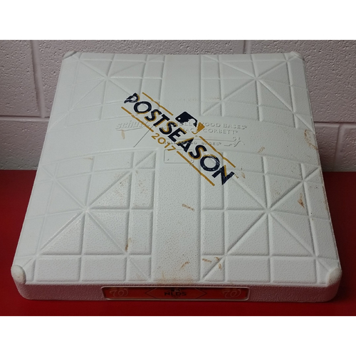 Photo of NLDS Game 2 Game-Used Base: 2nd Base, Inning 9