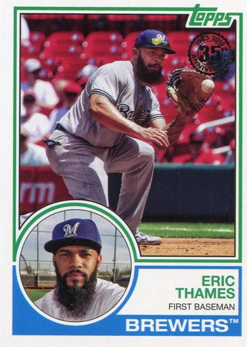 Photo of 2018 Topps '83 Topps #8310 Eric Thames