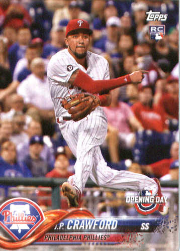 Photo of 2018 Topps Opening Day #126 J.P. Crawford