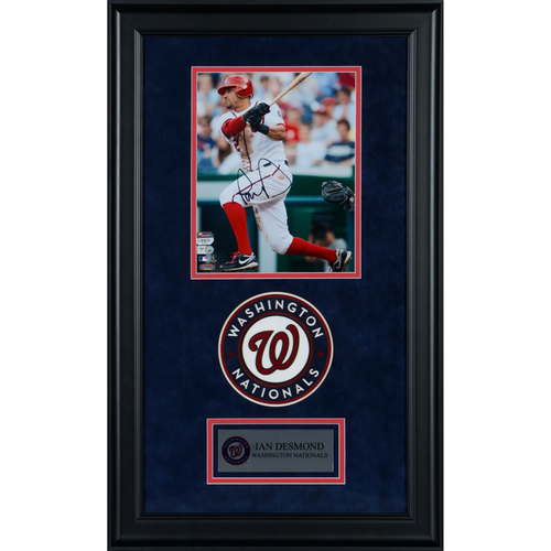 "Photo of Ian Desmond Washington Nationals Deluxe Framed Autographed 8"" x 10"" Photo"